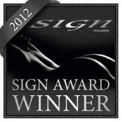 Award: Sign Magazine Award